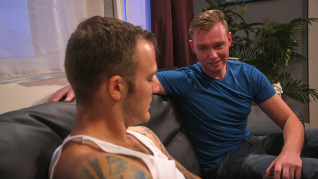 Bound Gods - Christian Wilde - Grayson Frost - Online hookup turns into a night of kinky sex for BDSM virgin #2