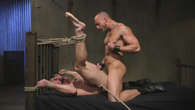 Bound Gods - Jessie Colter - Jacob Durham - Beefy Muscular Hunk Deprived of Air and Fucked into Submission #13
