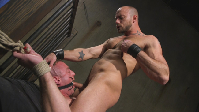 Bound Gods - Jessie Colter - Jacob Durham - Beefy Muscular Hunk Deprived of Air and Fucked into Submission #14
