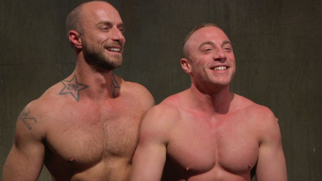 Bound Gods - Jessie Colter - Jacob Durham - Beefy Muscular Hunk Deprived of Air and Fucked into Submission #15