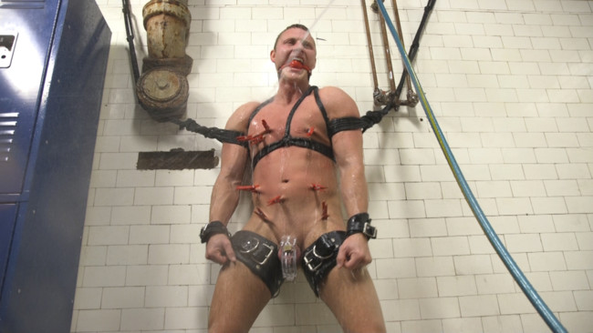Bound Gods - Brian Huggins - Christian Wilde - Straight Boy in the Locker Room is Abducted and Fucked! #10