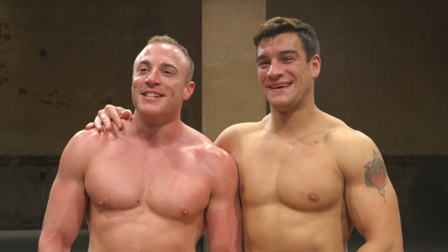 Naked Kombat - Jordan Boss - Jacob Durham - Pound for Pound - Two Muscled Hunks Battle for Sexual Domination #15