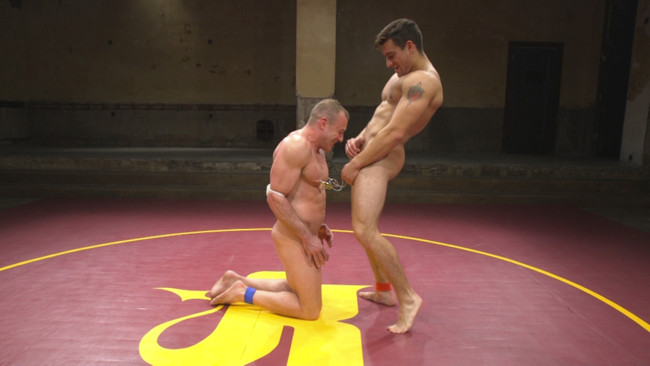Naked Kombat - Jordan Boss - Jacob Durham - Pound for Pound - Two Muscled Hunks Battle for Sexual Domination #6