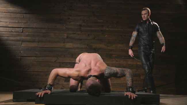 Bound Gods - Dolf Dietrich - Christian Wilde - Muscled hunk begs for his master's abuse #4