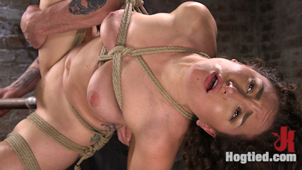 Super Slut is Subjected to Brutal Torment and Bondage!