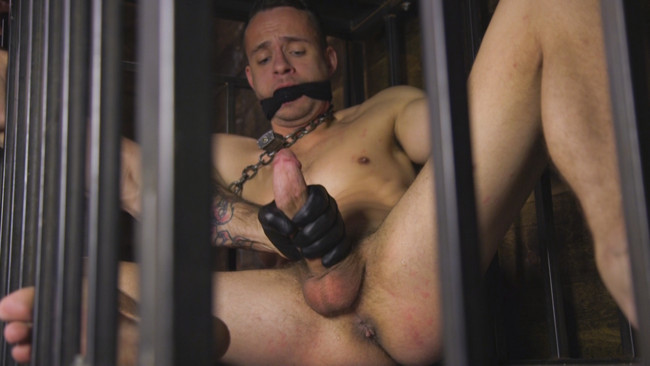 Bound Gods - Trenton Ducati - Nate Grimes  - New boy with a big cock at Mr Ducati's mercy #4