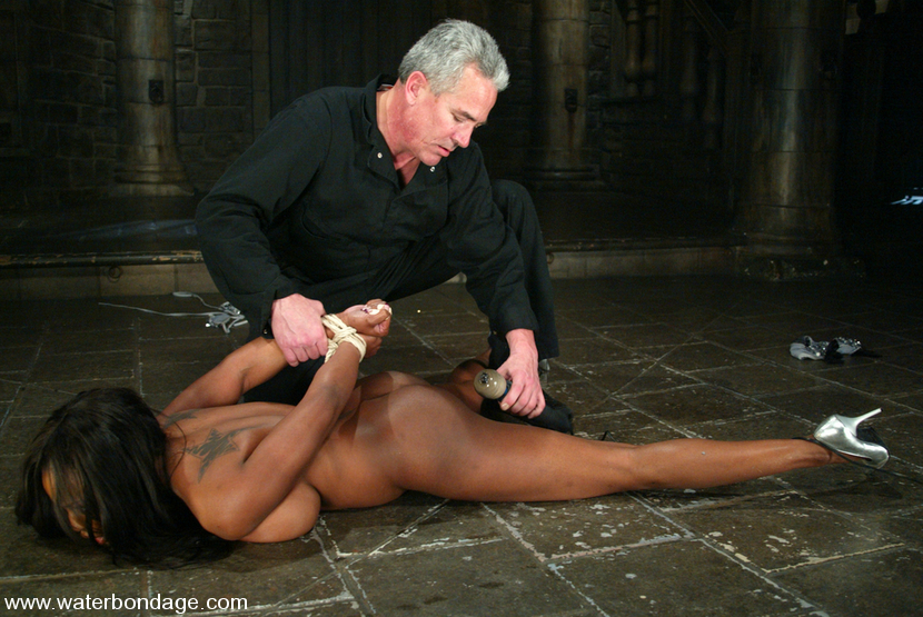 Sex black girl bondage