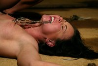 Julie punished and ass fucked by Sandra.