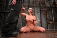 Eva Angelina is bound, gagged, and made to CUM over and over...