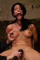 Victoria Sin, captured, bound and made to squirt and cum.