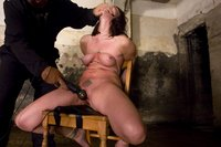 Dana DeArmond, is stripped, bound, and made to obey.