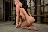 Two hot friends, bound and made to have sex with each other.