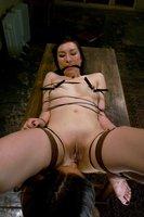 Milf lesbian bondage and SM.