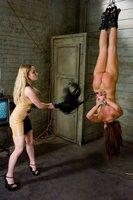 Lesbian anal sex and bondage.