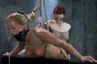 Intense Lesbian BDSM!