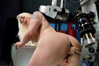 Lorelei Lee gets machine pounded in both holes, DP and huge anal.