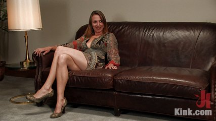 Casting Couch 3<br />Former stripper finally gets her bondage wish!