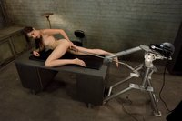 Sasha Grey machine plowed in her tight pussy, mouth, rides sybian