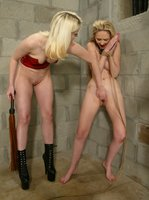 Cowgirl punishes and rewards Chanta-Rose in a highly erotic scene