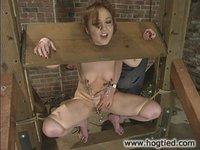 Babydoll had the most intense reactions to being tied.
