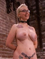 Pierced Angel gets marked/bruised by Kym, fantastic squirting!