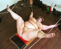BBW tied up and flogged.