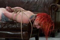 Amateur Casting Couch 14: Midian, alternative bondage chick
