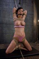 Cherry Torn in extreme suspension bondage!