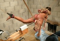 Sinnamon Love describes how bondage can make her orgasm.
