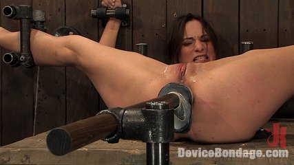 Amber raynebranal violation Tiny model, bound down and DP'd with huge dildos made to cum!. Amber Rayne.