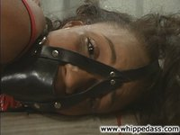 Pain slut Sinnamon subs for Kym, tied, humiliated, beaten