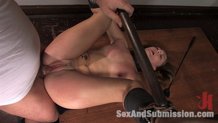 Cheating little slut. Cheating on a test gets Savannah West make love in bondage and punished!