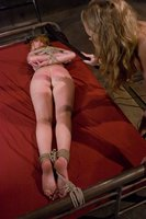 Hot redhead in sexy lesbian domination.