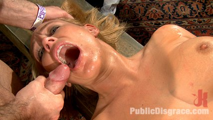 Mellanie monroe voluminous tittied milf is used as the armory have sex hole for a night. Hot Blonde Milf make love and Humiliated