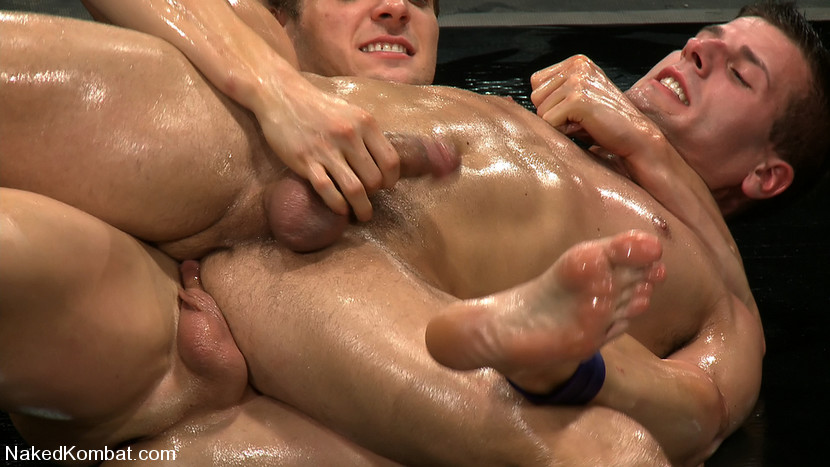 from Kaiden brother gay oil wrestling