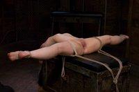 Amateur Casting Couch: Moriel; BDSM club girl