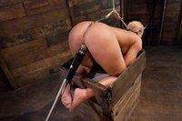 Mellanie takes the hook!