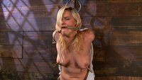 Lacey Jane's Big Titted Bamboo Bondage