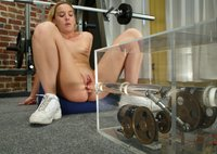 Lainey finds a better way to work out.