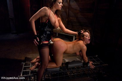 New girl gets turned into a little lesbian pain slut.