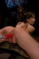 Capri Anderson gets tied in inescapable bondage, and fucked like she's never been fucked before. With electricity!!!!