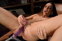 Tiffany Tyler - small tittie, tight body rising porn star gets machine nailed, has multiple orgasms and cums from nipples being flicked while her puss