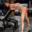 Gia DiMarco made her porn debut on fucking machines