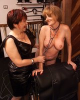 Cleo meets her new slave.