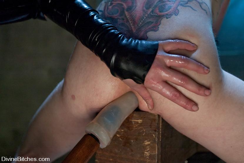 Self bondage tease
