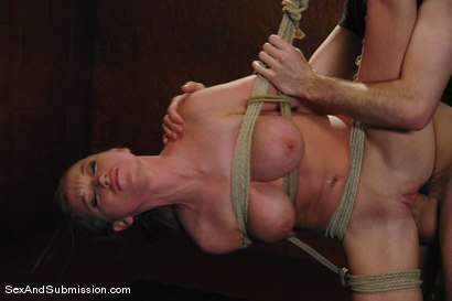 Madison Scott suffers beautifully in hard bondage and sex!