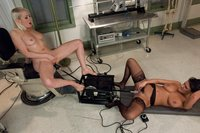 Lorelei-Lee-Charley-Chase-Playing-Doctor