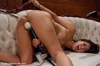 Isis-Love-bent-over-stuffed-full-and-squirting-down-her-legs