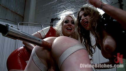 The apocalypse and the last piece of man meat on earth. Two smoking hot latex clad evil nurses use a piece of man meat to painfully drain every ounce of man filth out of him!