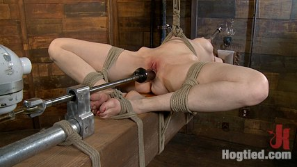 Kendra jamesbrsophistication. Kendra James is bound, fucked, and nearly split in two.